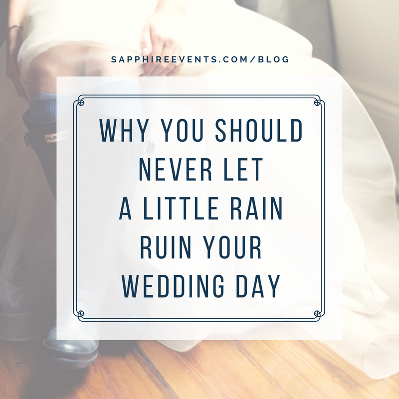 This Rainy Wedding Day was the Best Day Ever!
