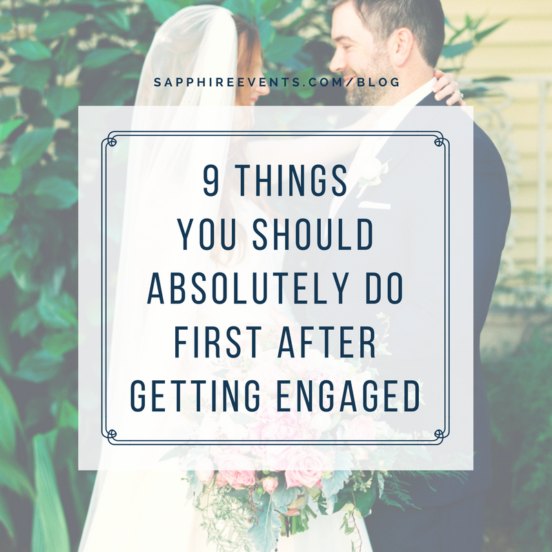 9 things you should absolutely do first after getting engaged