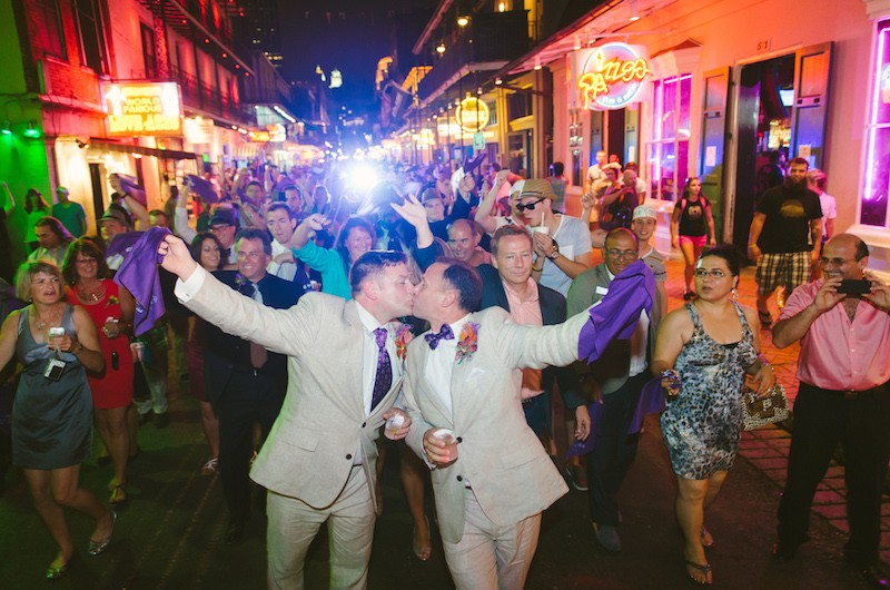 Real Weddings: Chris and Cliff