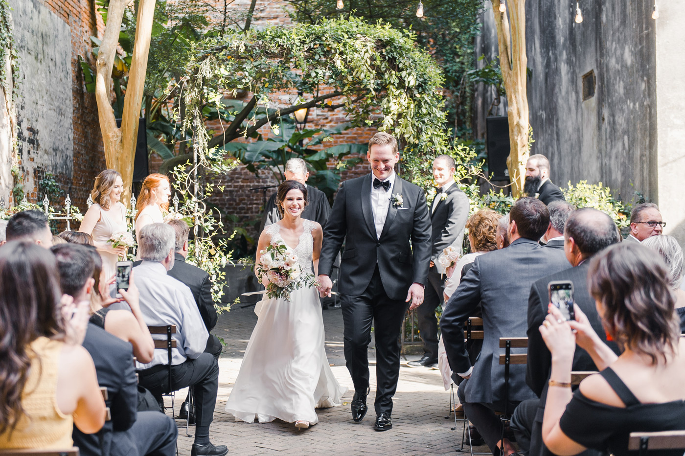 New Orleans outdoor wedding