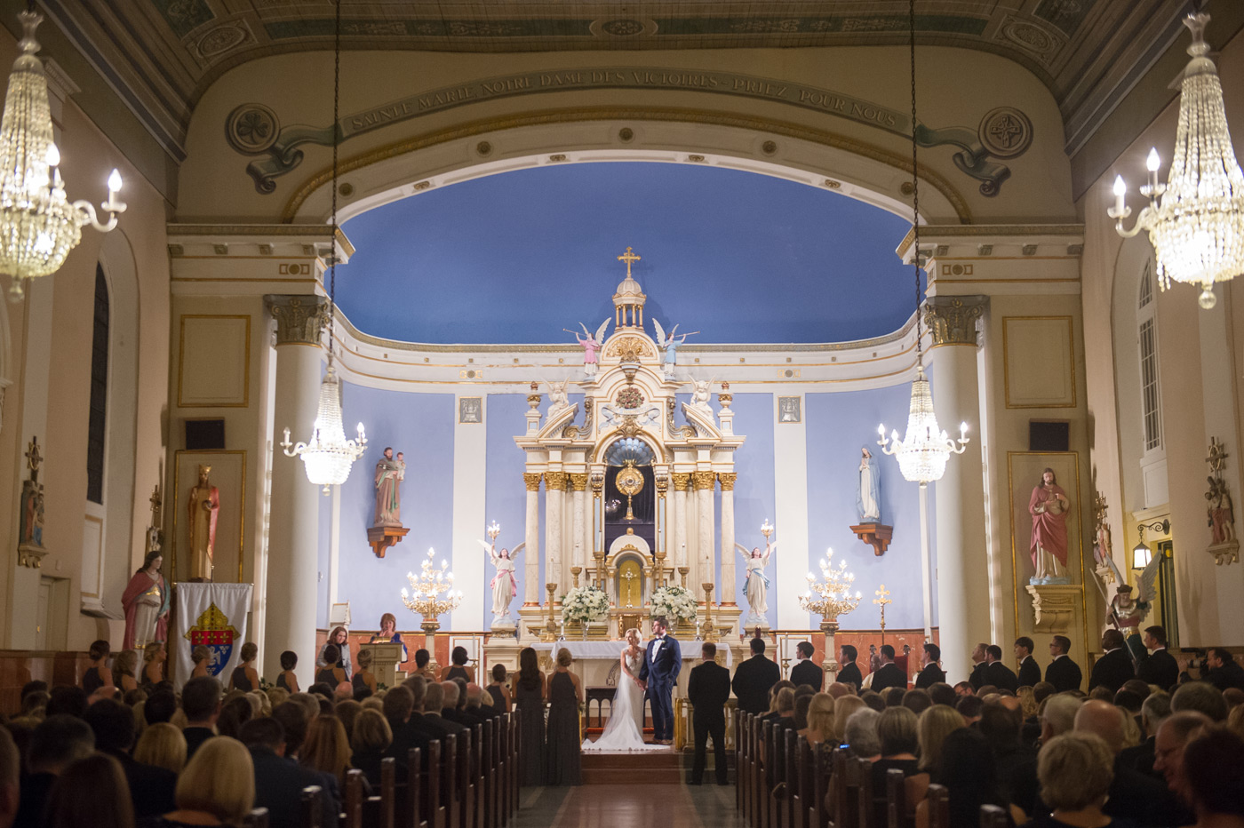 church wedding in New Orleans