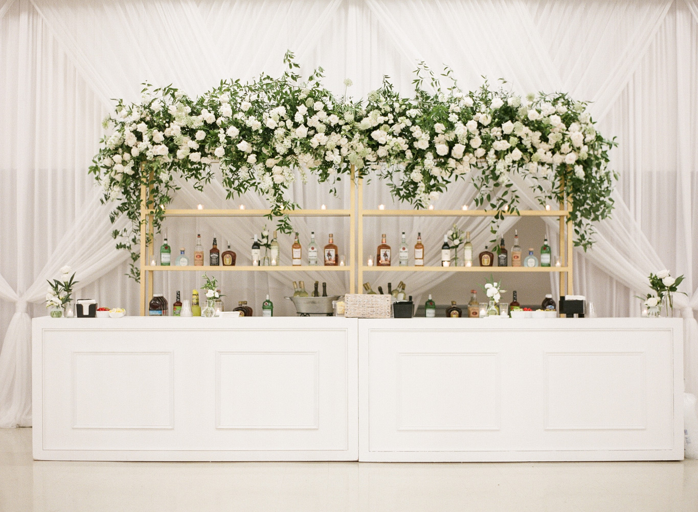 A White Wedding Complete Room Transformation