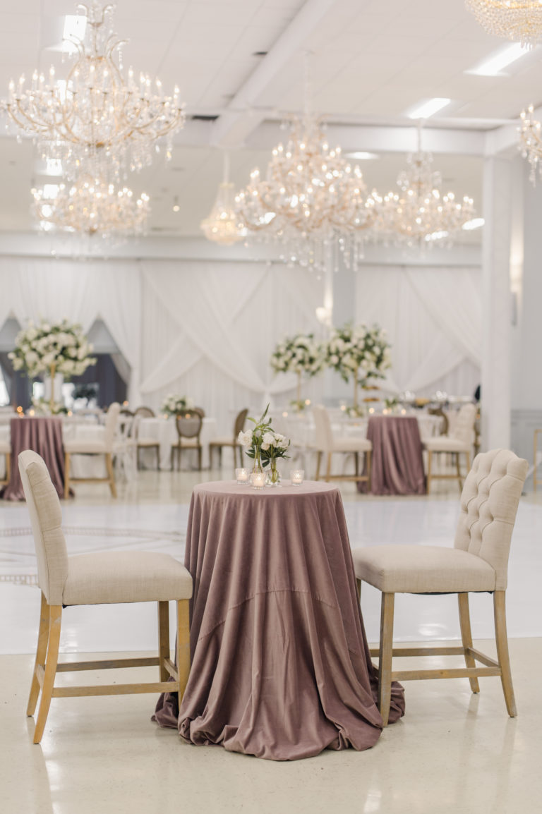 Houma wedding venues transformation Ruby and Pearl Events New Orleans Wedding Planners