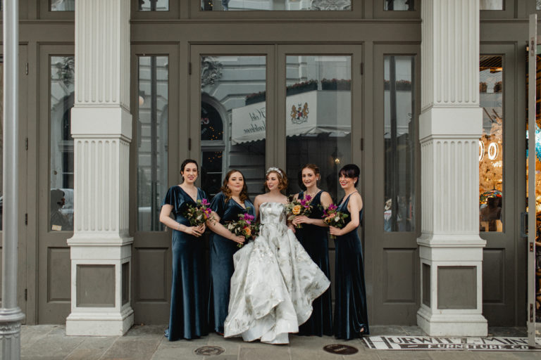 Arnaud's Restaurant New Orleans French Quarter wedding by Ruby and Pearl Events