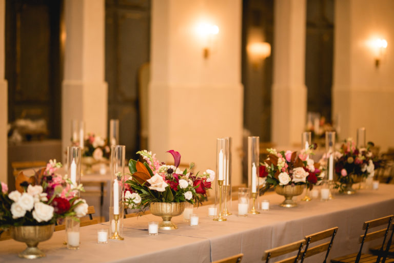 Wedding Design by Ruby and Pearl Events at NOLA Wedding Venues