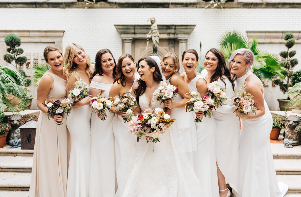 New Orleans Wedding Planners Ruby and Pearl Events bridesmaids