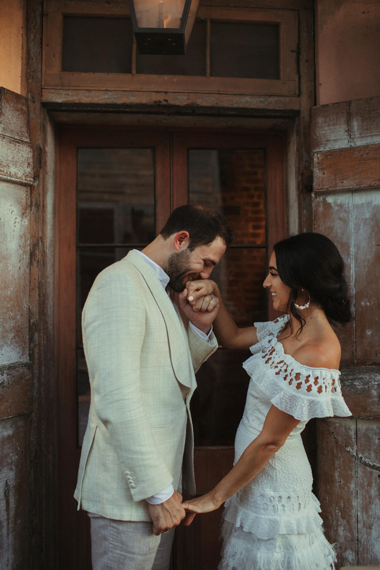 Race and Religious destination wedding in New Orleans by Ruby and Pearl Events